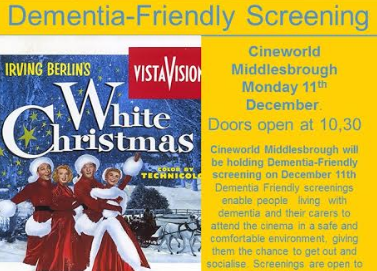 Dementia Friendly White Christmas at Cineworld