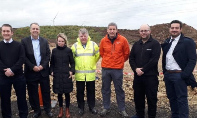 Testing Set to Start at Moor House Wind Farm as Final Turbine goes up