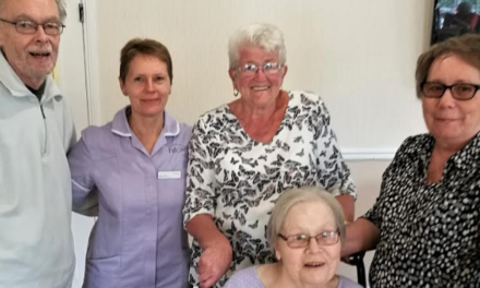 Christmas comes early with care home festive fayre