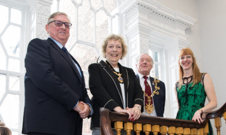 Guidon Group celebrate New Joint Venture With a Visit from The Mayor of Stockton-on-Tees'