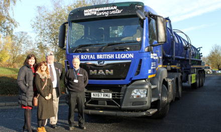Water Company Tanker Hits the Road to Support Royal British Legion