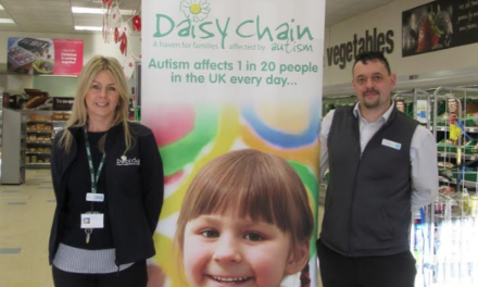 Daisy Chain Chosen to Benefit from Co-Op's Local Community Fund