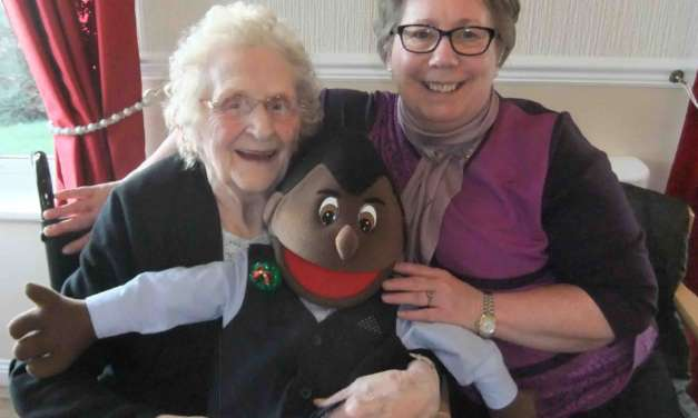 Puppet show benefits Peterlee's elderly with dementia