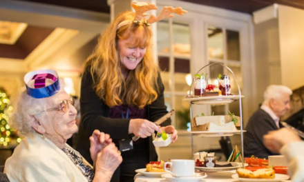 Newcastle hotel makes time for tea in aid of Age UK Newcastle