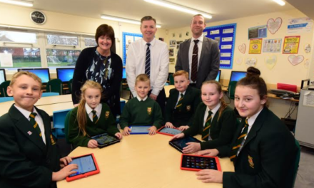 Schools get high speed boost with North East tech firm