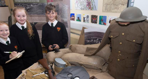 Northumberland students take part in major First World War project