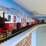 Department store unveils model railway