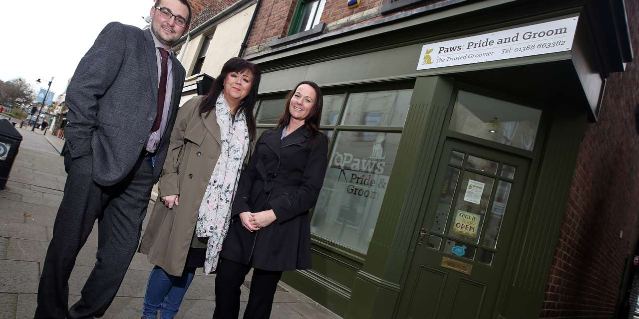 Grooming parlour launched thanks to business support scheme