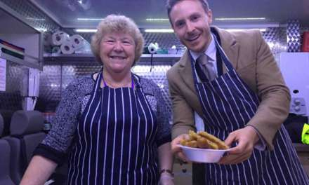 Record breaking donation to The People's `Kitchen