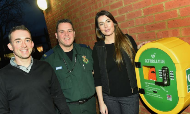 Acklam Green Centre launches public access defibrillator