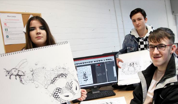 'Bee'autiful Designs from Art Students to be Featured on Beekeeping Association Website