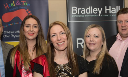 Property firm raises thousands of pounds for local children's charity