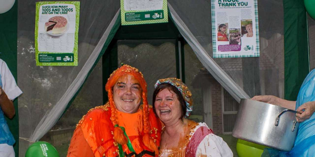 Local Care Home Gets Messy For Macmillan