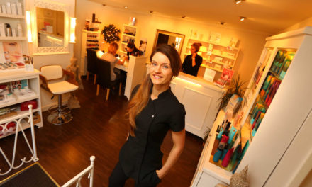 Ambitious Morpeth skin beauty expert plans for future after successful first year