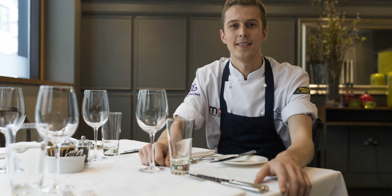 CAFÉ 21 Chef Named North East Young Chef of The Year