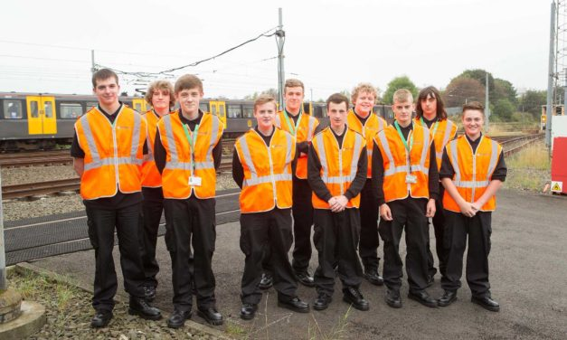 New apprentices sign up for engineering training scheme