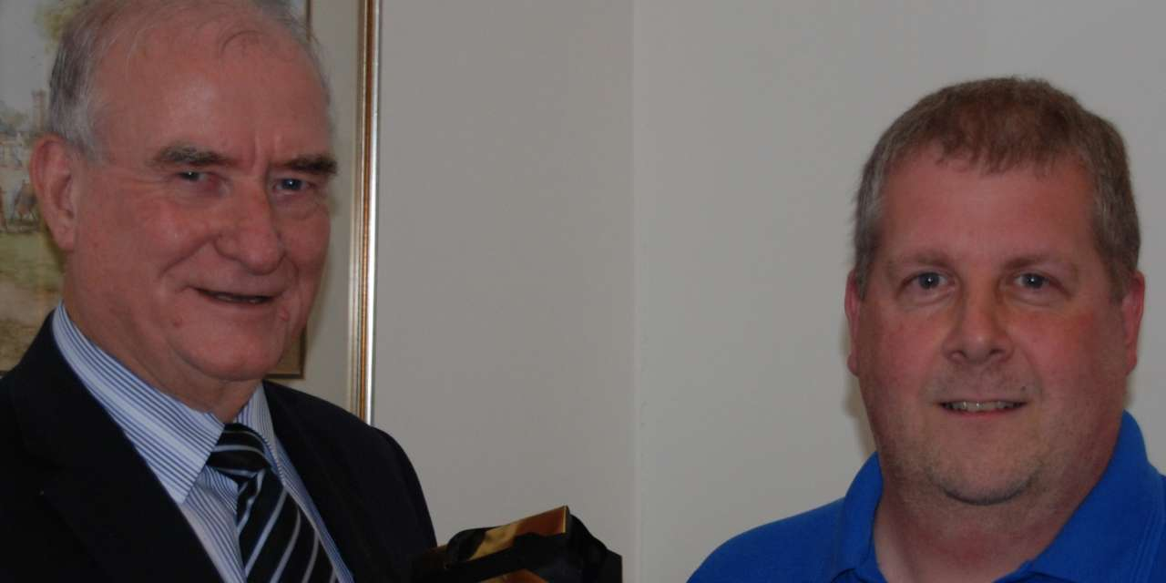 Gary Clocks Up 30 Years Service With the Banks Group