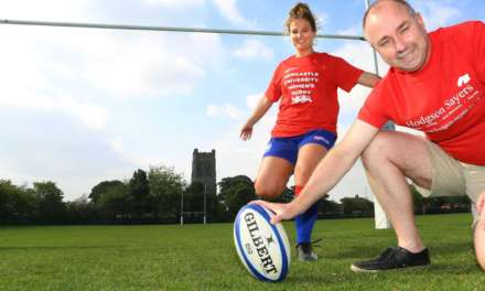 University women's rugby team look the part for the new season