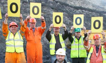 Banks' Shotton Surface Mine Team Hits One Million Tonne Landmark