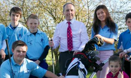 Sponsorship deal continues to tee off success for Romanby's young golf stars