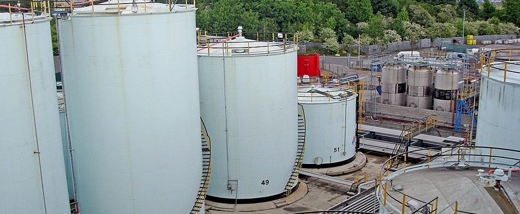 The first double skinned hydrochloric acid storage tank in the world