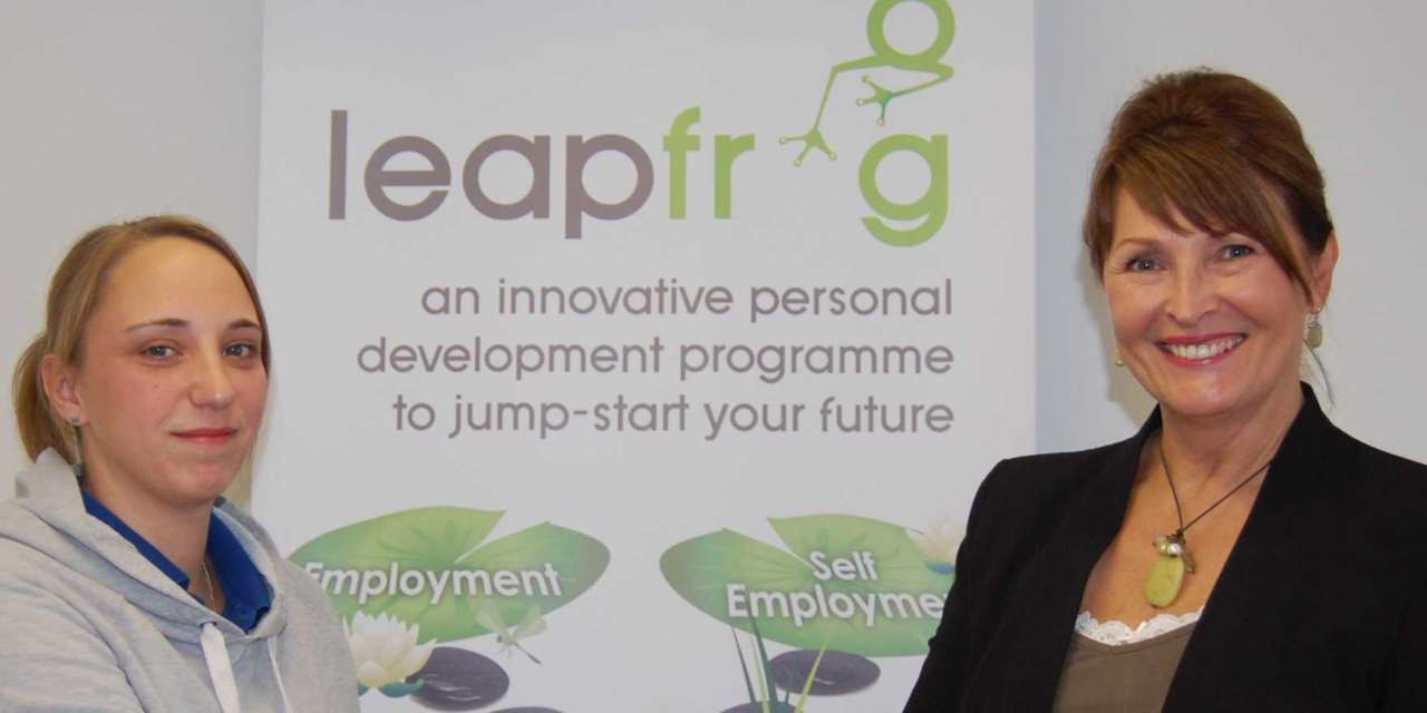Leapfrog employment scheme celebrates anniversary success