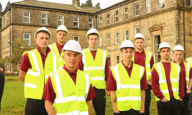 Building a workforce of the future as nine new apprentices come on board
