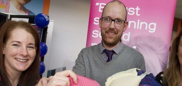 EDF Energy staff bin their bras to support cancer campaign