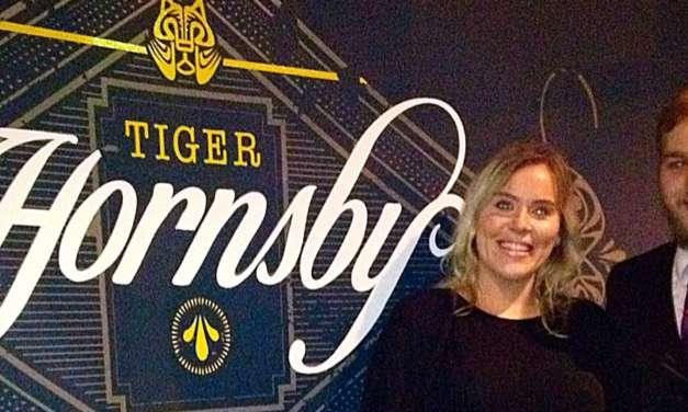 Tiger Hornsby Raises A Glass to Two New Appointments…