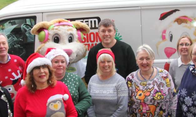 Donated Toys Handed Over To Children's Charity