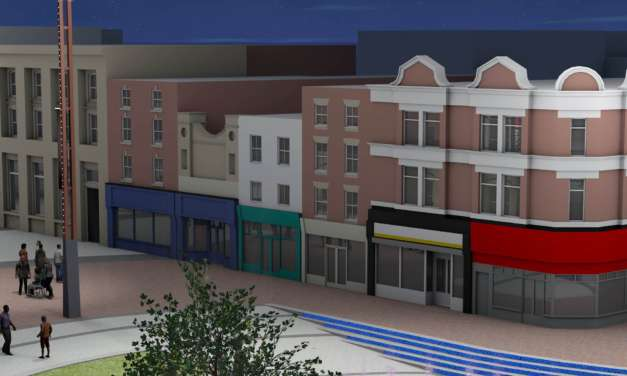 Finishing Touches To Stockton Town Centre