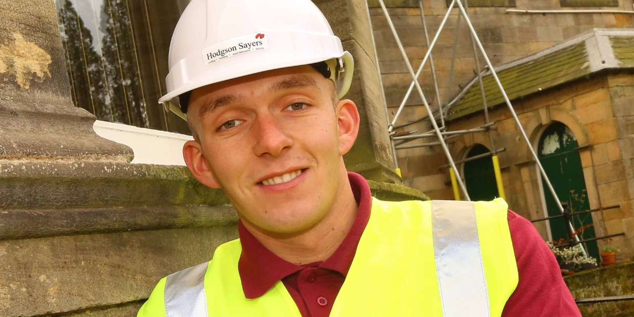 Apprentice Paul represents North East at Skillbuild national finals
