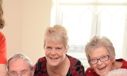 Care homes red-dy to support heart charity
