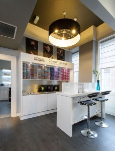 House of Savannah's L'Oréal Professionnel colour lounge