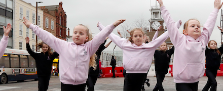 Stockton Dance School Pupils Get Ready For Giant Show