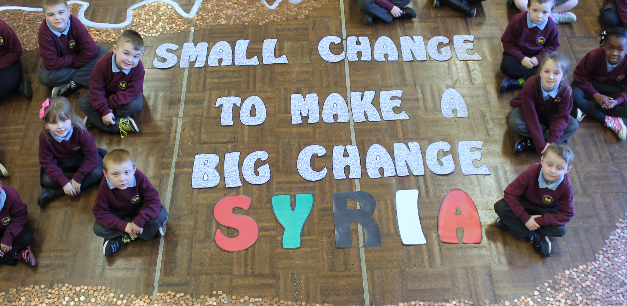 School's fundraising for conflict children welcomed by Syrian mother