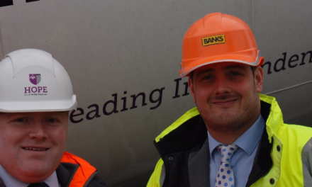 Building Materials Firm Hopes For Local Business Benefits From Windy Bank Wind Farm