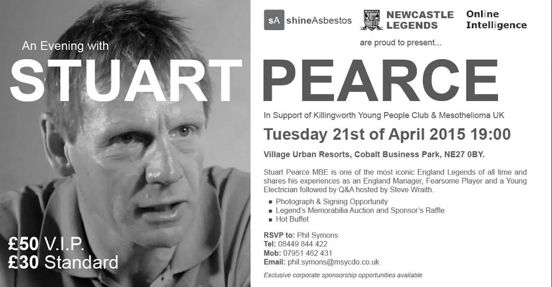 An Evening with Stuart Pearce
