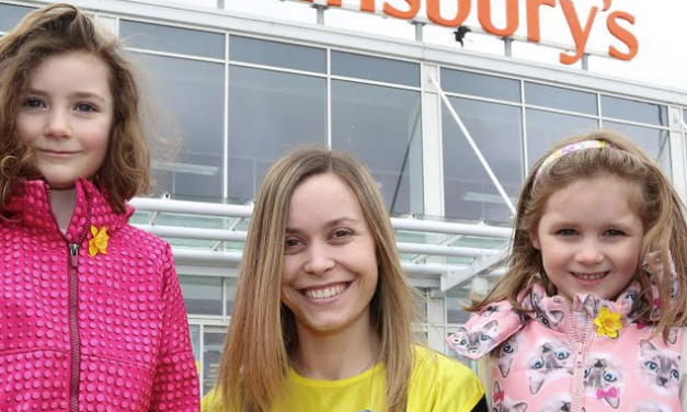 Flower Power Helps Energy Company Smash Fundraising Target