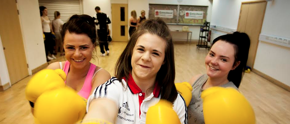 Female Weightlifting star Gives a Lift to Women's Sport at College