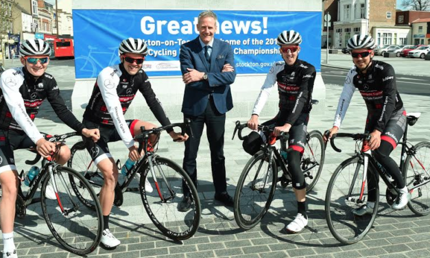 Cycling Takes Pride of Place on Stockton High Street