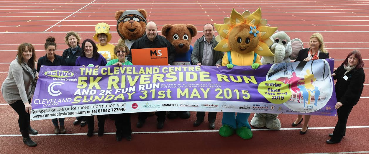 Charities on Track for Bumper 2015 Riverside Run