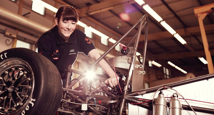 Young Engineer Jennifer Flying High Fronting Heathrow Campaign