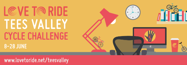 Biking Over the Transporter for the Tees Valley Challenge