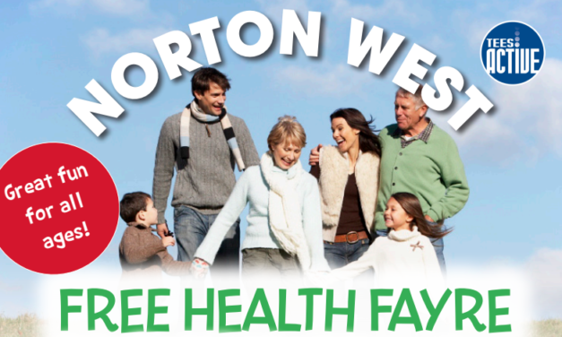 Norton West Health Fayre, 16th May Education Centre, Norton.