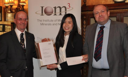 National Accolade for Young Scientist