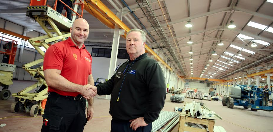 Family Firm Fits Out Factory in £150K Contract