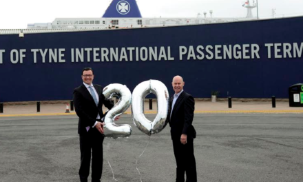 Celebrating 20 Years of the Newcastle to Amsterdam Ferry Route