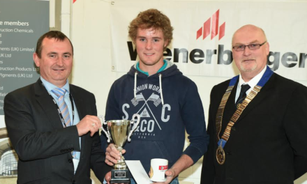 Teesside Champion Bricklayer Student Scoops Prize for Second Year in a Row