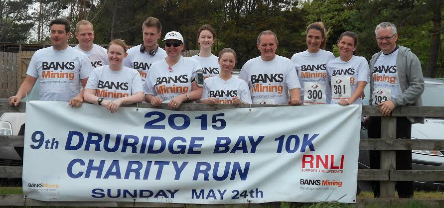 Banks Group Staff go on the Run to Raise £1,187 for Durham Kids Charity